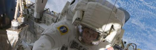 Астронавты починили туалет МКС