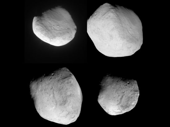 Комета под разным углом