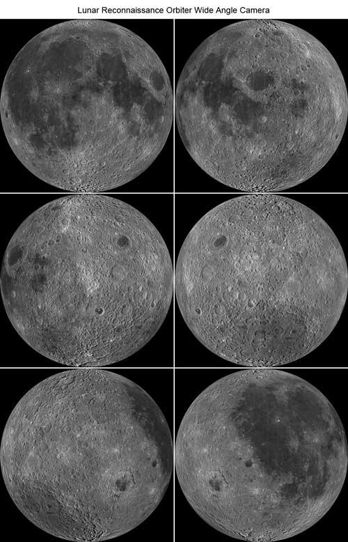 Обратная сторона Луны в высоком разрешении