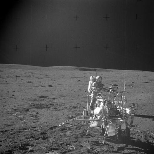 MET cart используемый во время миссии Аполлон 14