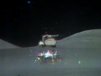 Запуск Лунного модуля