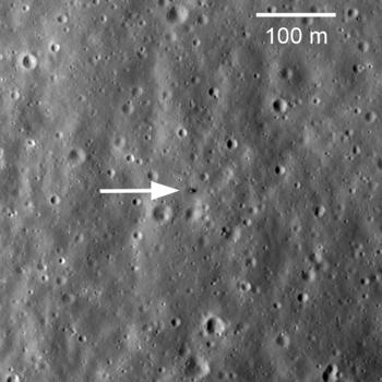 Аппарат Луна 16 на Луне
