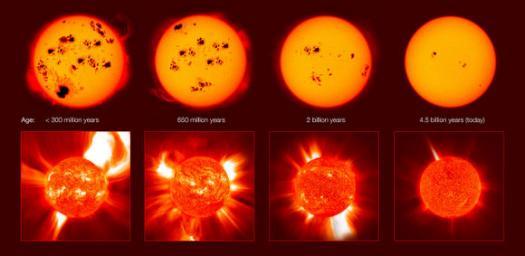 Земля и Солнце — маловероятная пара для поддержания жизни