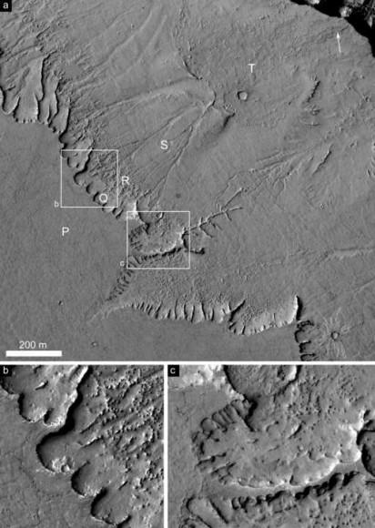 На Марсе был теплый климат