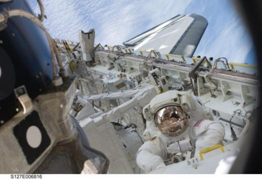 Астронавт Тим Копра (Tim Kopra) - STS-127