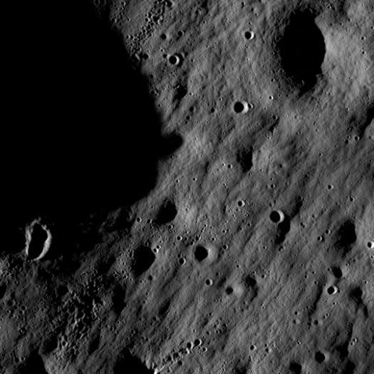Первые фотографии Луны от LRO
