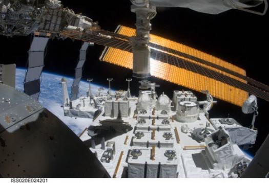 платформа Kibo на МКС - STS-127