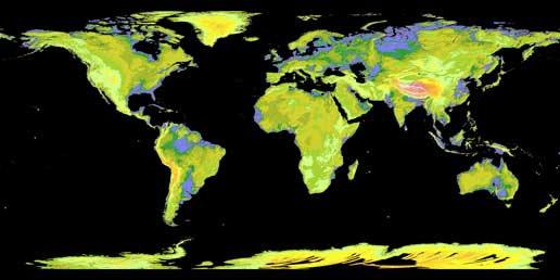 Новая топографическая карта от НАСА и Японии