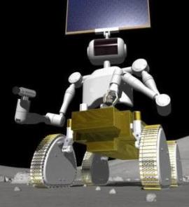Робот - будущий покоритель Луны