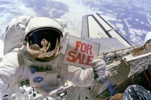 Распродажа в космосе