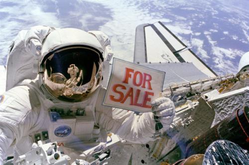Космическая распродажа