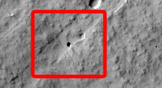 Школьники открыли пещеру на Марсе