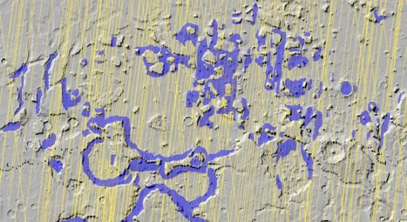 Радар MRO обнаружил подповерхностный лед на Марсе