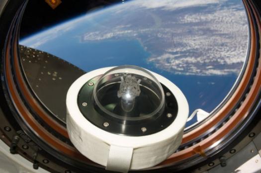 образец лунного грунта - STS-127