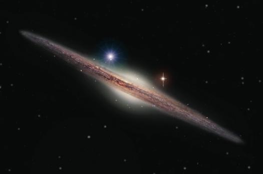 Астрономы открыли средний класс черных дыр