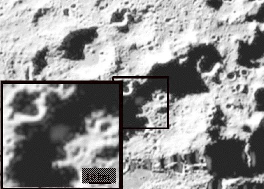 На луне обнаружили воду