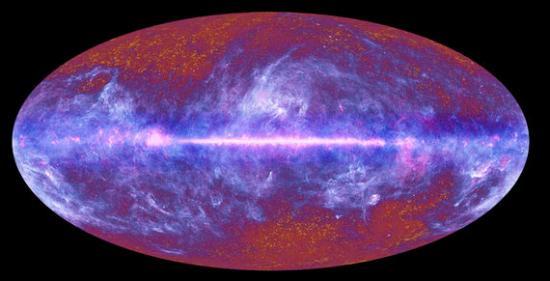 Все небо от Планка