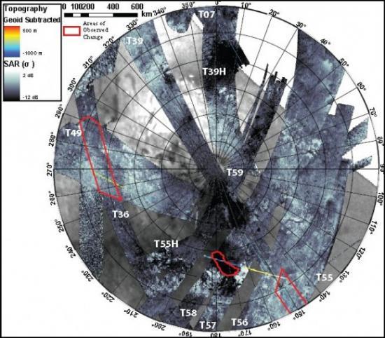 Новые доказательства сезонных изменений на Титане
