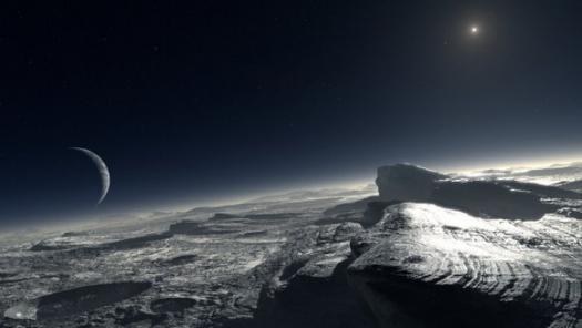 Влияние метана на температуру атмосферы Плутона