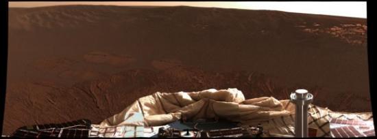Панорама кратера 'Eagle'