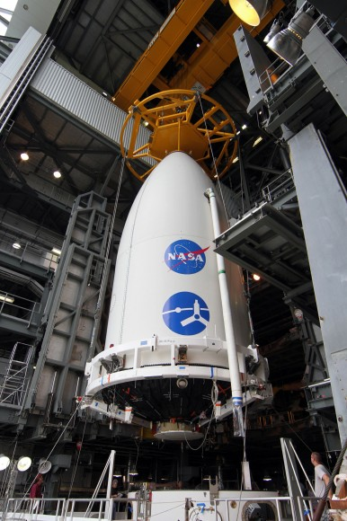 """Подъем автоматической межпланетной станции """"Юнона"""" на самую мощную ракету Атлас V"""