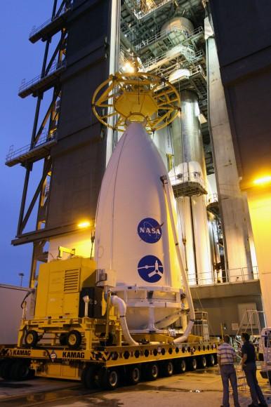 Аппарат «Юнона» установлен на ракету Атлас V