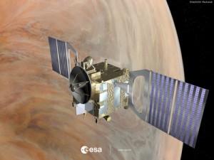 Аппарат 'Венера Экспресс' на орбите Венеры