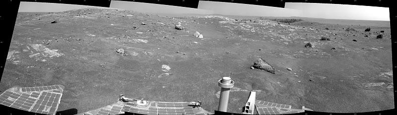 Вид на кратер Santa Maria