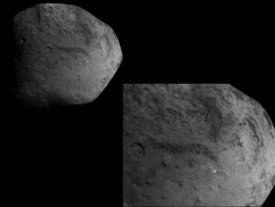 Открытые территории кометы Темпеля 1