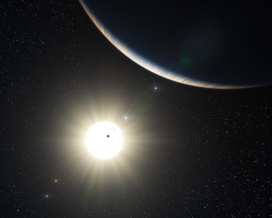 Открыта первая внесолнечная система из семи планет