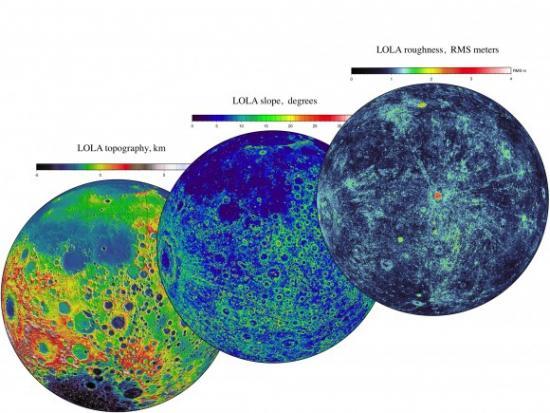 Новый беспрецедентный объем данных от LRO