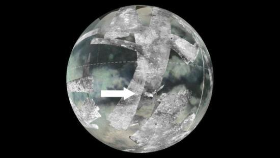 «Кассини» обнаружил следы криовулкана на поверхности Титана