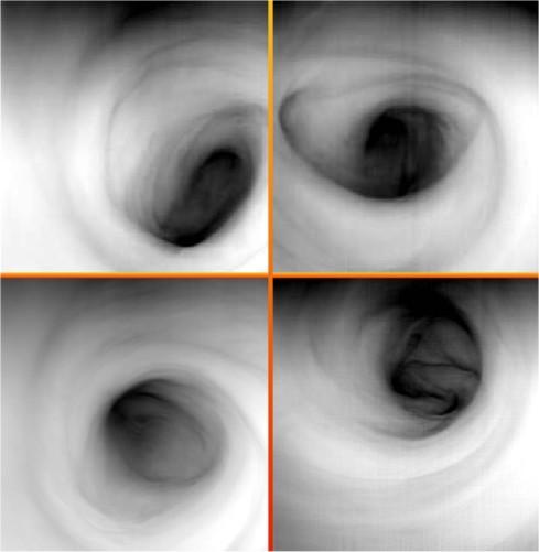 Многоликие вихри на полюсах Венеры