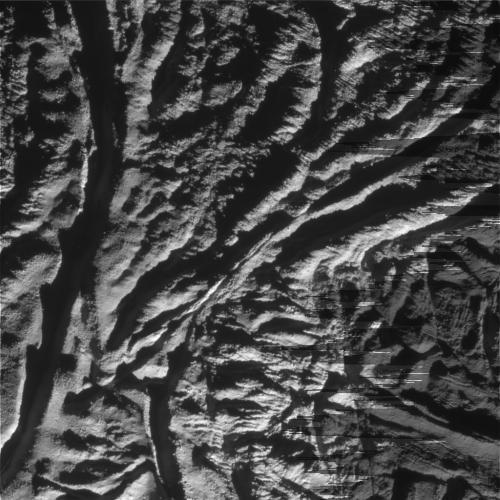 Трещины на Энцеладе