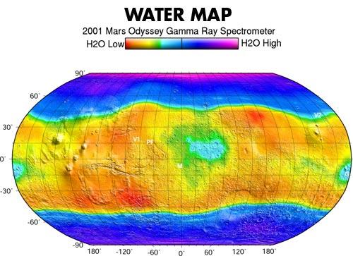 Рекорд орбитального аппарата Mars Odyssey