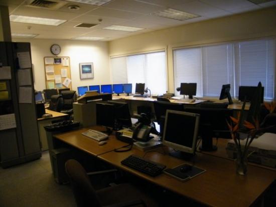 Комната для работы с телескопом Кек 1
