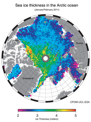 Фонд DAMOCLES помог в изучении Арктики