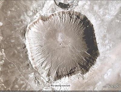 Аризонский кратер (Бэрринджера кратер, Каньон Дьявола)