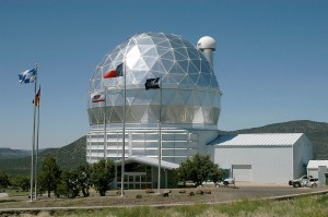 Телескоп Хобби-Эберли в обсерватории Мак Дональда