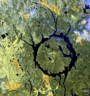 Десять самых больших ударных кратеров на Земле (часть 2)