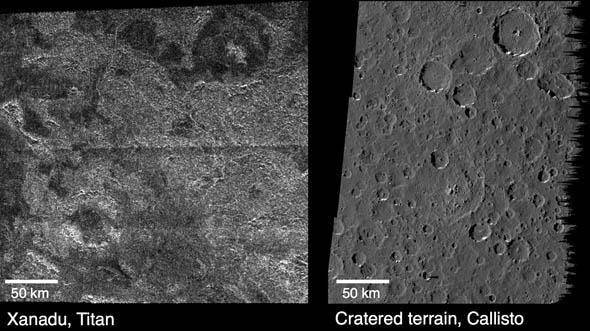 Новая теория: сила погоды преобладает над вулканами на Титане