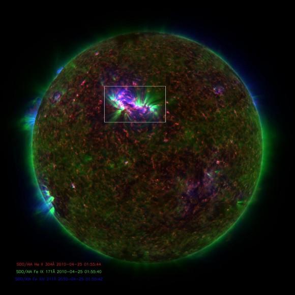 Солнце: яркие волны энергии