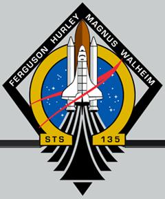Эмблема миссии STS-135