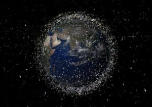 Космический мусор вокруг Земли
