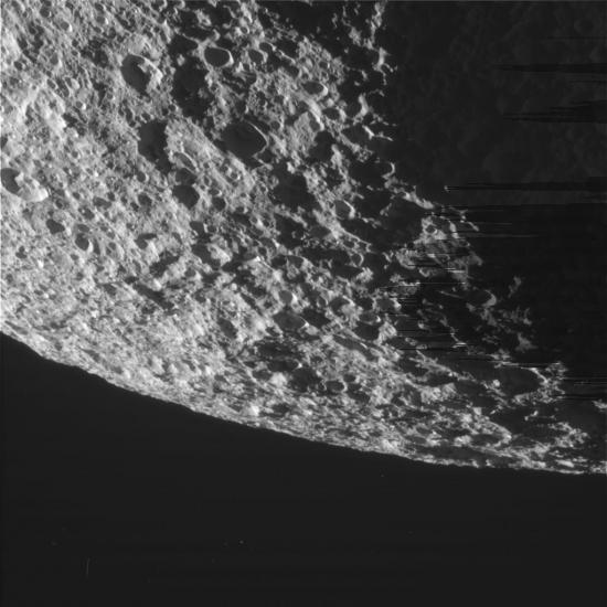 Тефия - спутник планеты Сатурн