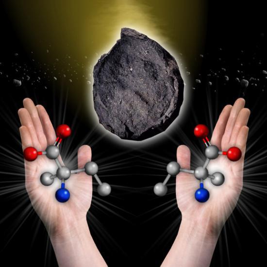 Компоненты жизни на астероидах