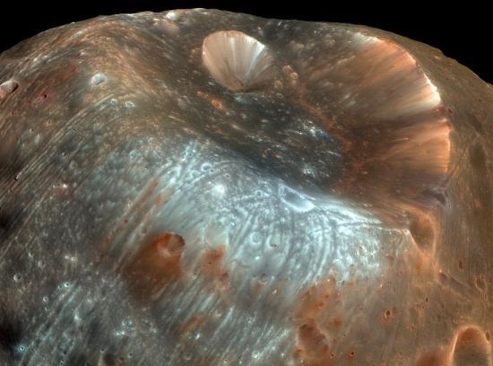 Спутник Марса, Фобос, образовался в результате катастрофического события