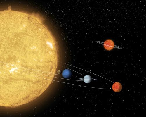 Применение правила Тициуса-Боде к экзопланетам