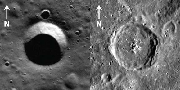 Размер кратеров Меркурия привлек внимание ученых