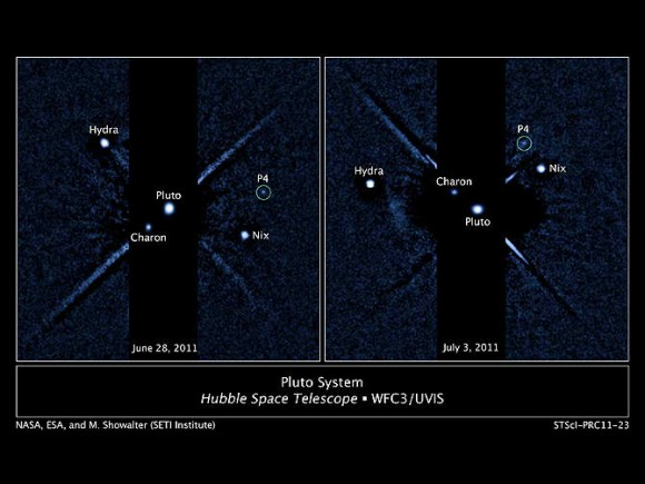 Найден четвертый спутник Плутона